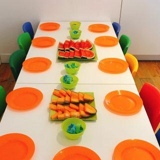 Summer meeting 🍉☀️⛱ #food #nutrition #school #healthykids #5aday #fruitandveggies #nutritioneducation